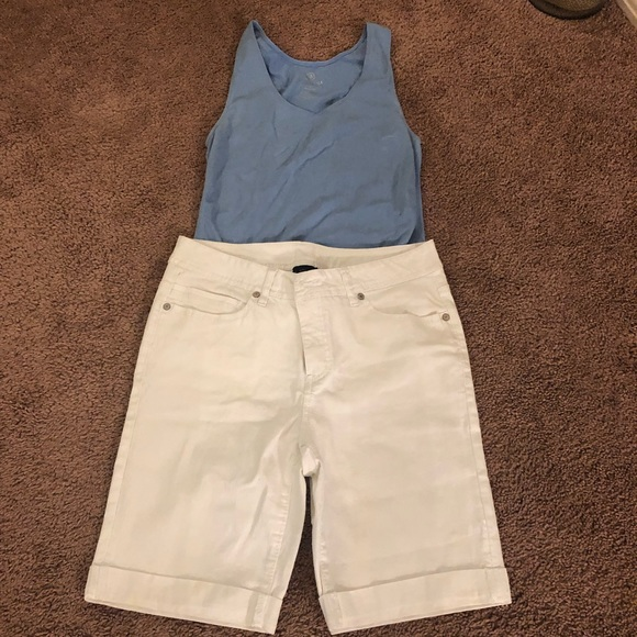 Faded Glory Pants - Excellent condition white shorts